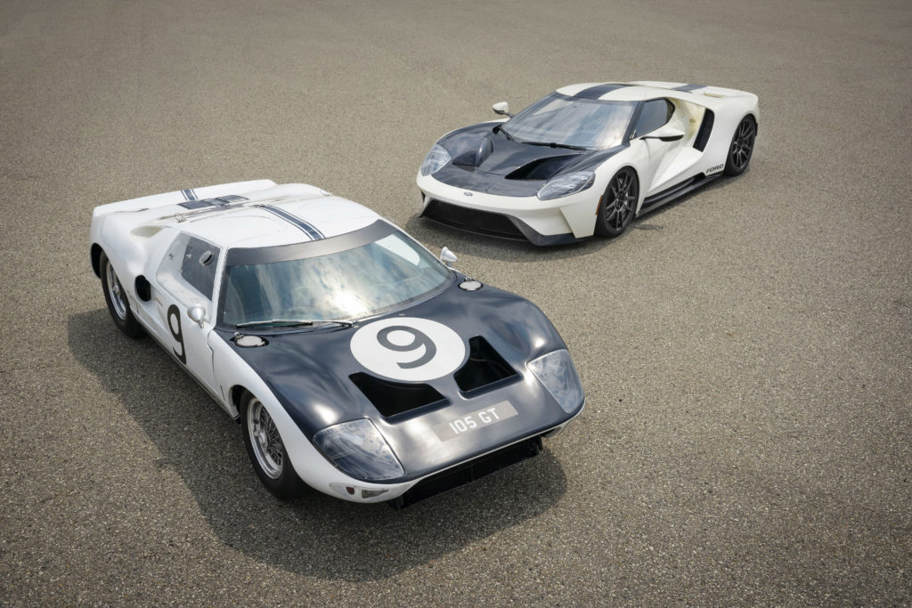 FORD REND HOMMAGE AUX PROTOTYPES GT40 POUR SA FORD GT HERITAGE 2022