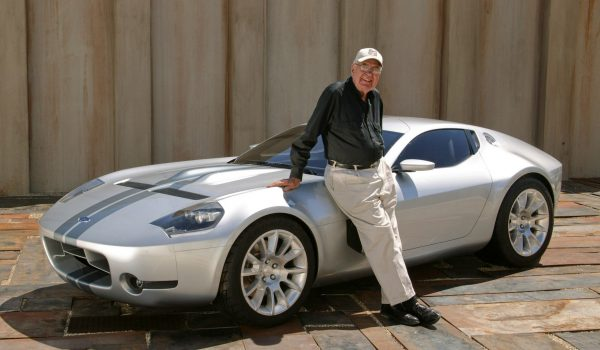 Carroll Shelby and the Ford Shelby GR-1 Concept.