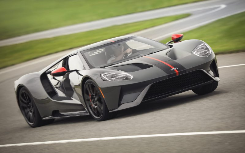 New 2019 Ford GT Carbon Series Attacks Tracks, and the Drive Hom